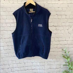 Penn State Fleece Vest Colorado Trading Clothing